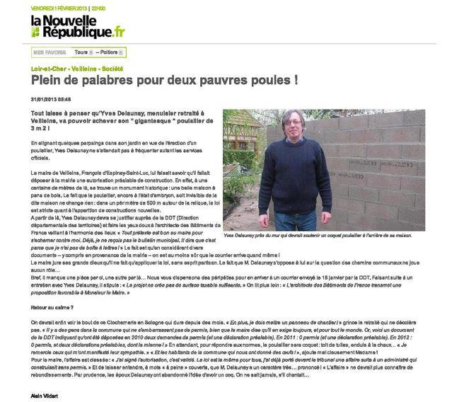 Plein de palabres pour d...République Loir-et-Cher