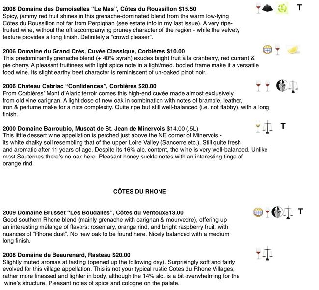 Preview of Featured Wine Reviews:2 1-6-12""