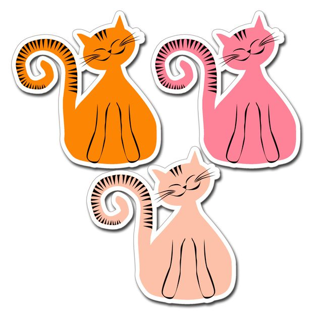 free printable cat's mobile 4