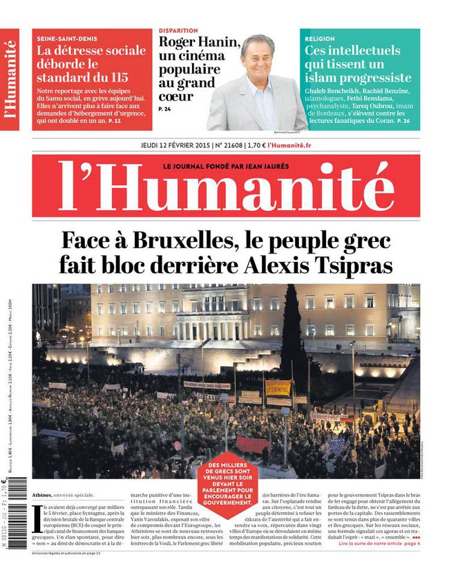 Une Humanite 12-02-15