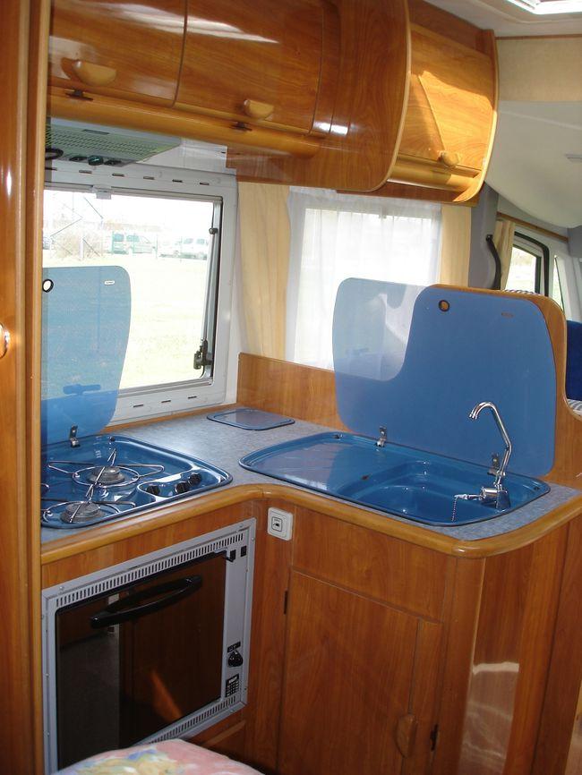 Photos le blog de camping car a vendre for Fermeture cuisine ouverte