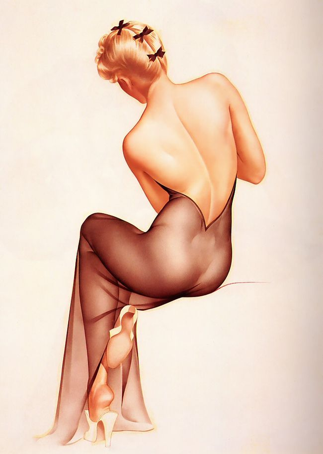 Alberto Vargas Pin Up Girls 04