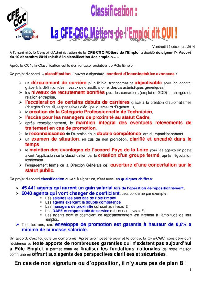 Accord classification la CFE CGC dit OUI-page-001