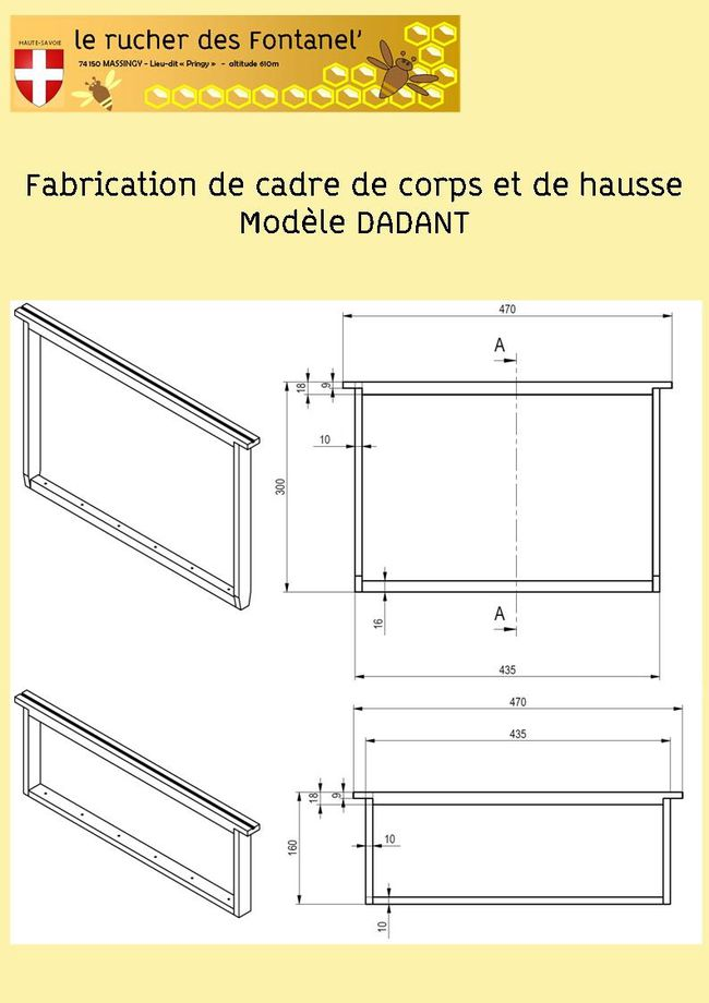 fabrication de cadre dadant le blog de rucher fontanel. Black Bedroom Furniture Sets. Home Design Ideas