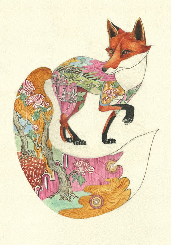 Daniel Mackie 0red-fox-print