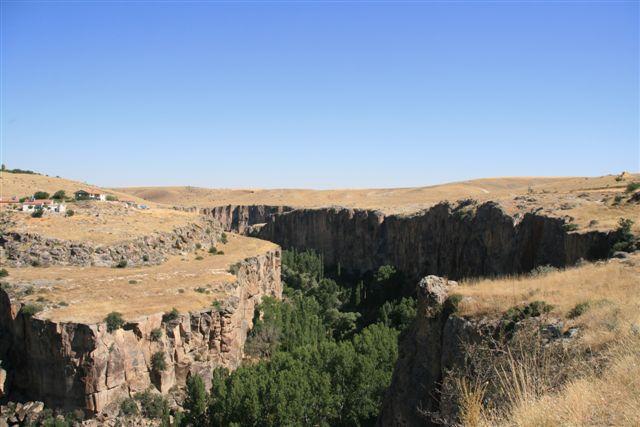 Turquie : vallée d'Ihlara