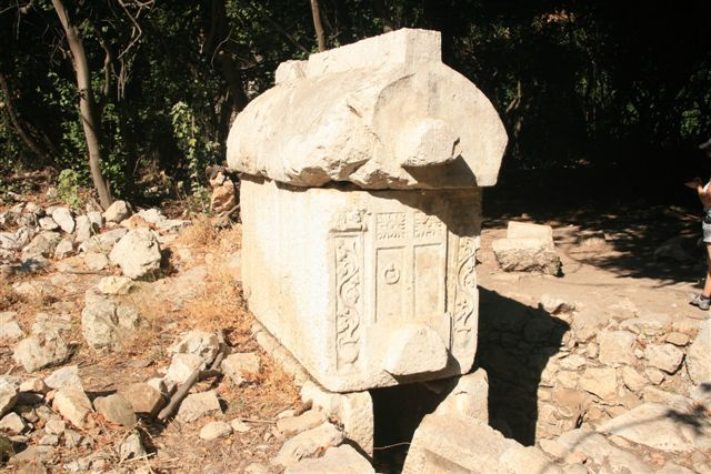 Tombe Lycienne site antique d'Olympos