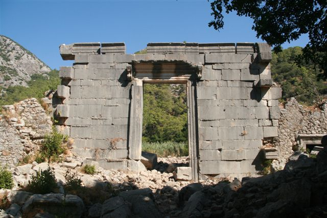 Lycie : site antique d'Olympos