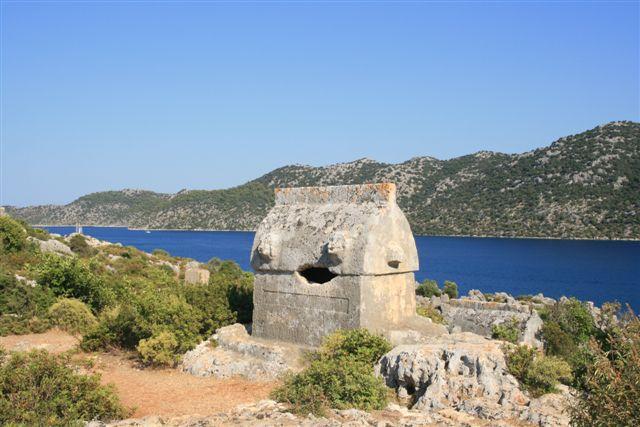 Lycie : tombe lycienne de Kakekoy