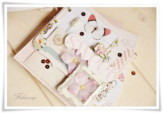 Mini-album-with-box-Floliescrap 0091