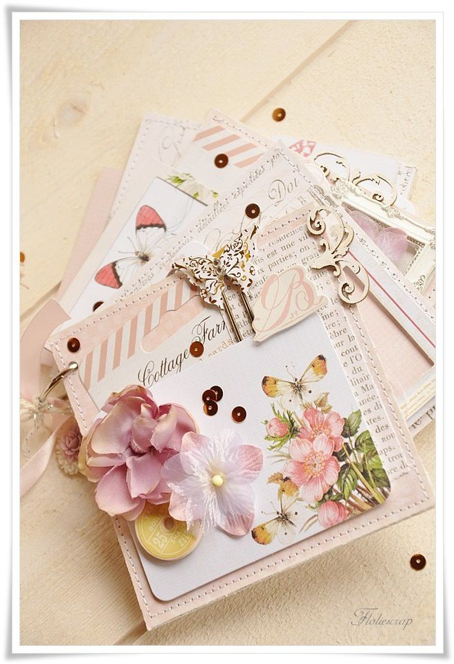 Mini-album-with-box-Floliescrap 0084
