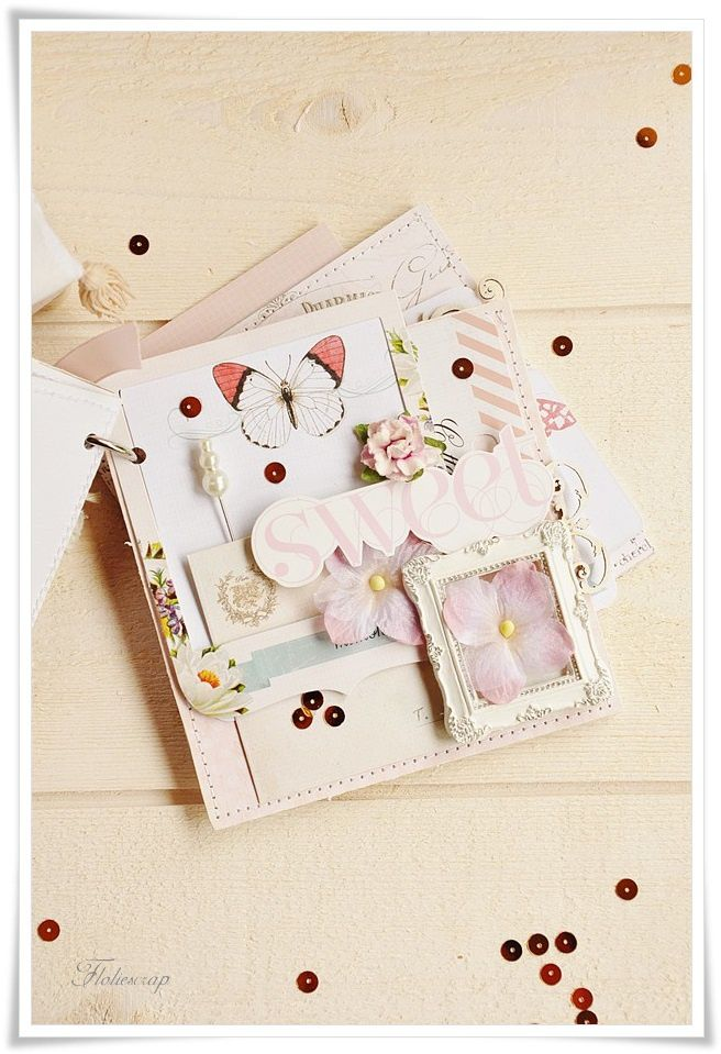 Mini-album-with-box-Floliescrap 0088