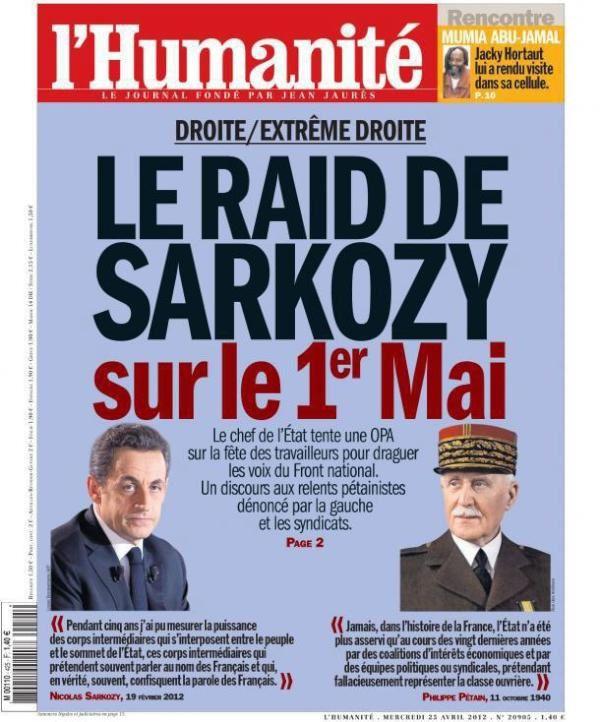 Sarkozy Petain 1er Mai