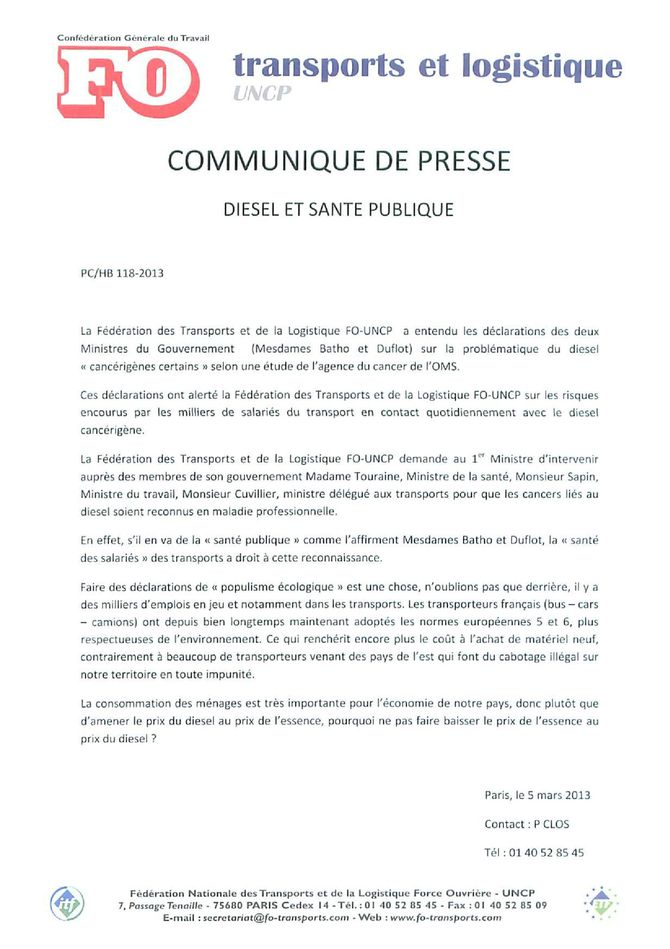 communique de presse diesel[1 [1]