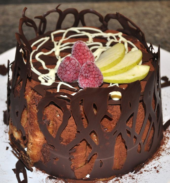 charlotte chocolat noisette