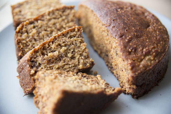 Cake banane quinoa sans gluten/lactose