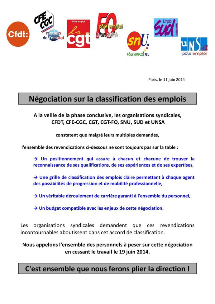 Classification Appel intersyndical à la mobilisation-page