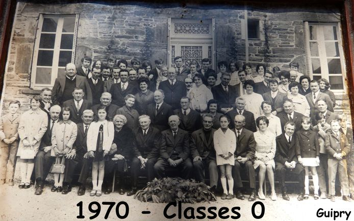 Guipry classes 0 -1970