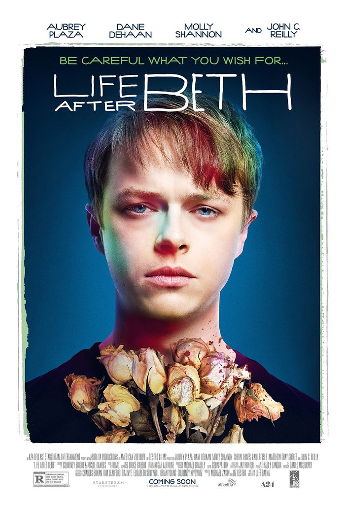Dane DeHaan, character poster for Life After Beth.