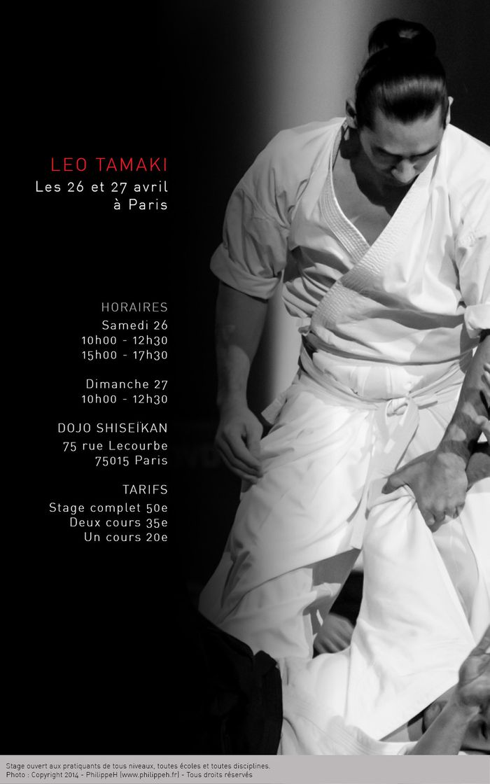 Tamaki Leo Paris avril 2014