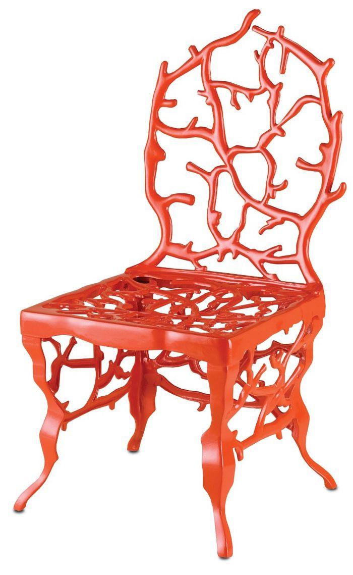 Marjorie SkourasCoral Chair