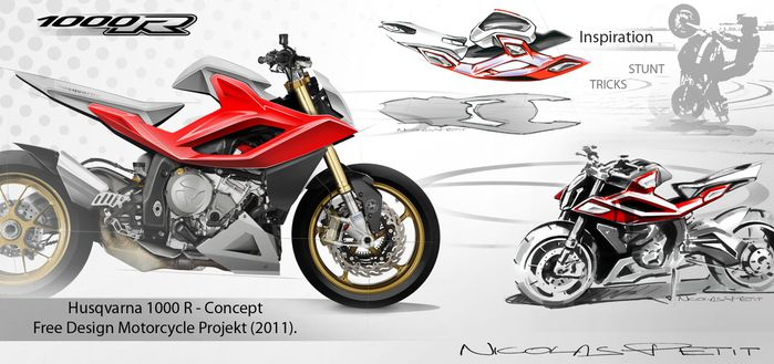 Husqvarna Concept 1000 R conception