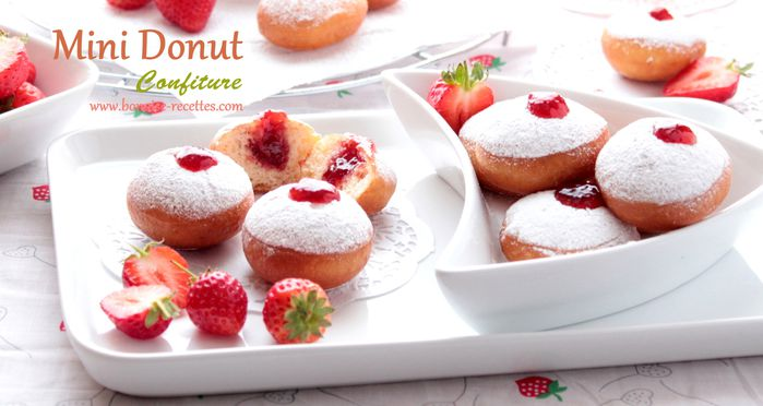 mini donut a la confiture1
