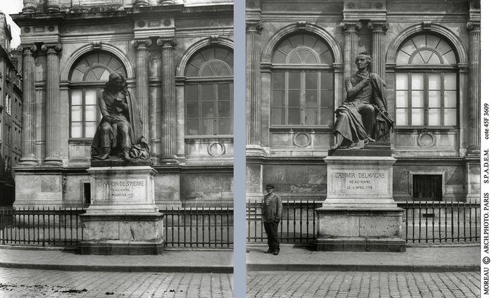 les 2 Statues C