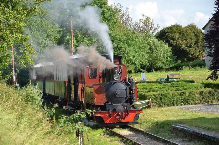 train vapeur SABA