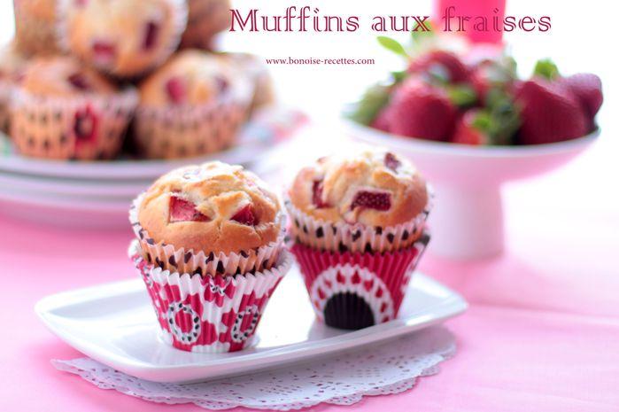 muffins aux fraises8