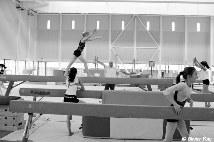 Photoreportage au gymnase