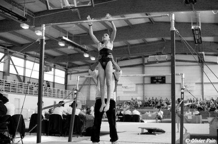 Compétition de gymnastique a bellerive par olivier pain