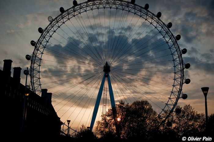 Le london eye par olivier pain photographe a tours
