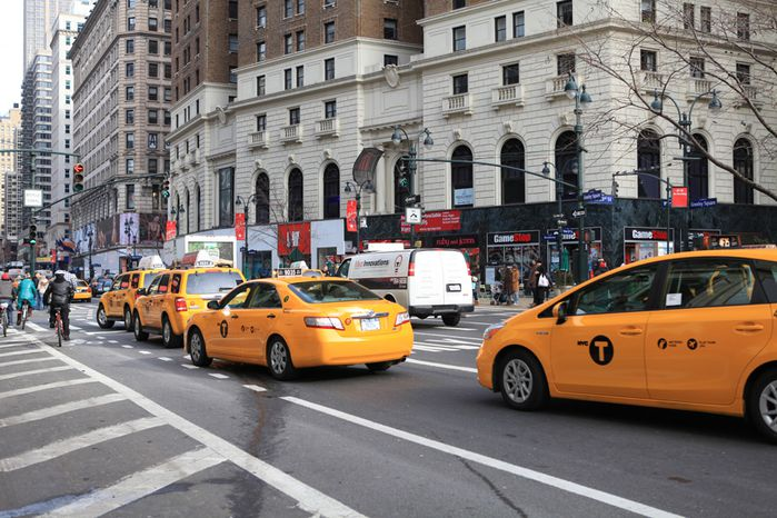 taxi jaune de New York