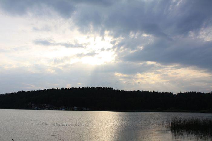 coucher soleil lac 21 juillet 018
