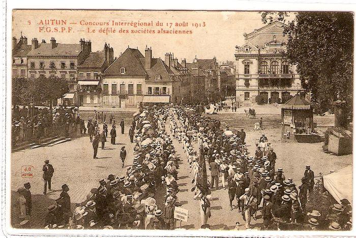 ¤ défilé - 17 août 1913 ¤