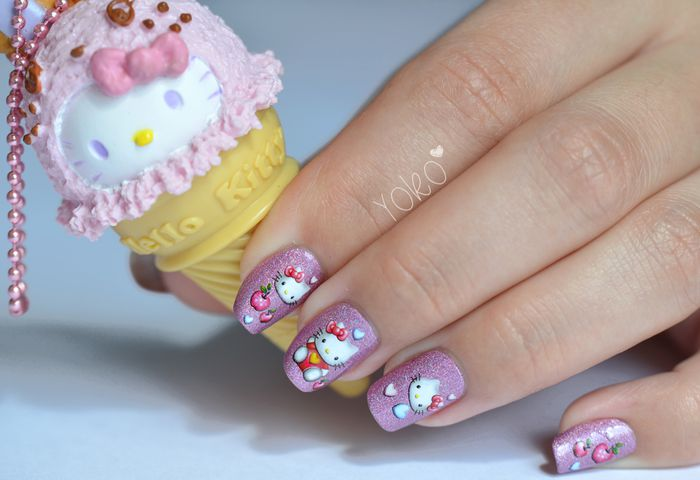 NailArt-HelloKitty-waterdecals-2