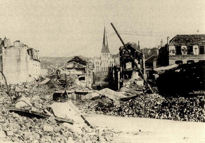 la rue cousture en 1944