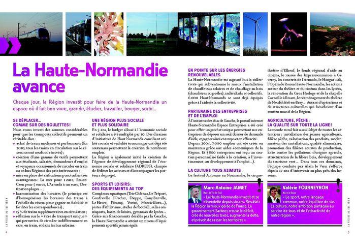Région lapreuve 12 pages - pages 4 et 5