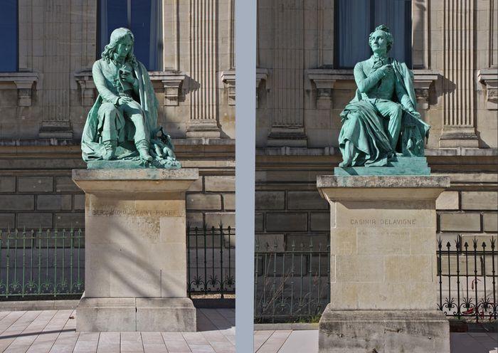 les 2 Statues couleur C