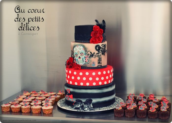 Super Wedding cake Rockabilly vintage - XQ61