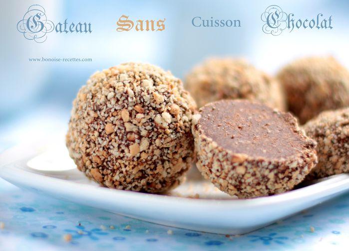 Bniwen gateau algerien sans cuisson - Gateau chocolat sans cuisson ...