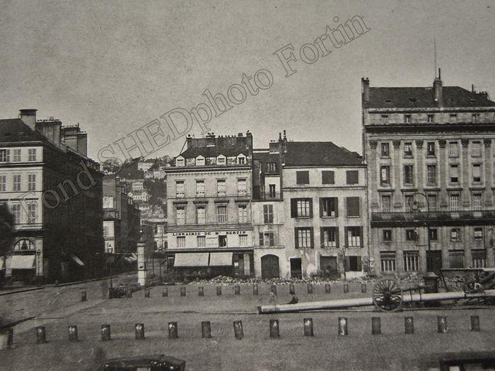 place de la mâture Fortin 1856