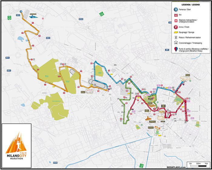 Milano-parcours