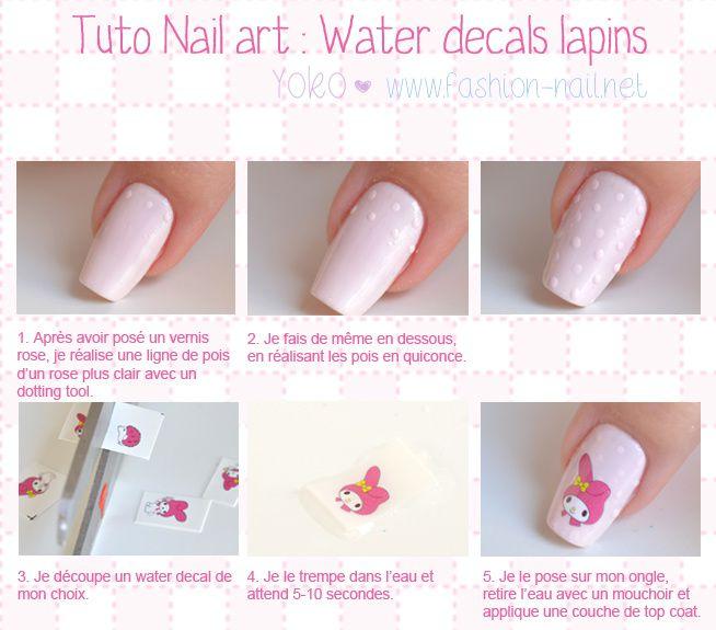 Nail Art Simple Sans Materiel: Nail Art Facile