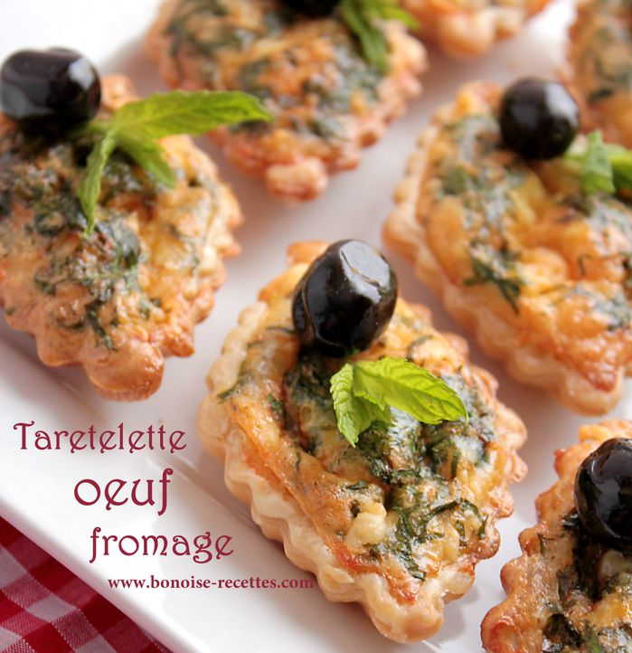 Entree pour ramadan tartelettes fromage oeuf for Entree facile et legere