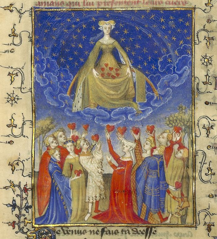 venus-Christine de Pisan, L'Epistre Othea la deesse- Paris-