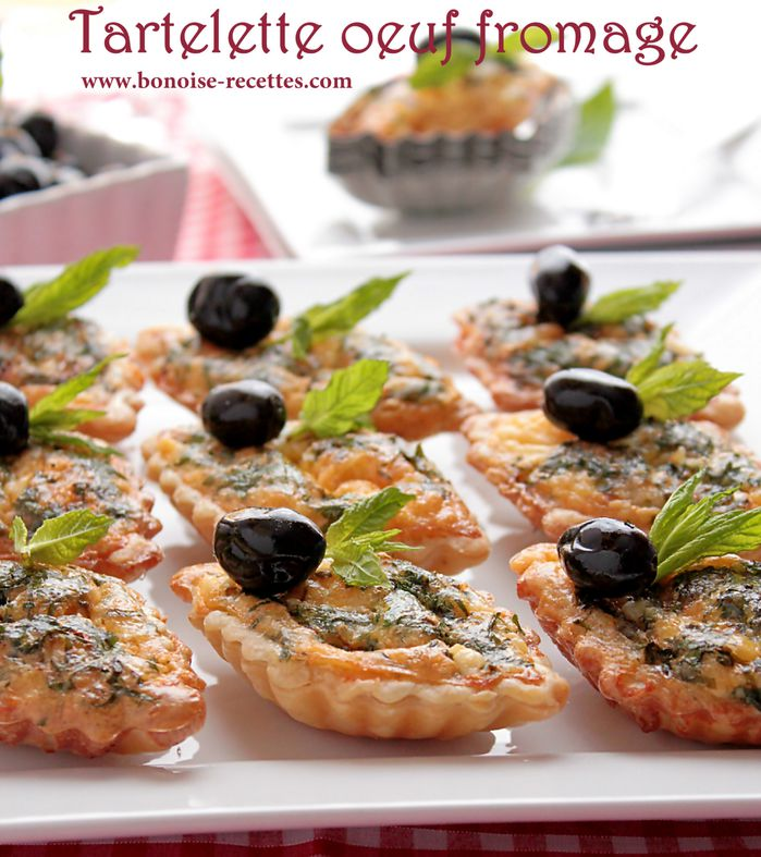 Entree pour ramadan tartelettes fromage oeuf for Cuisine les entrees