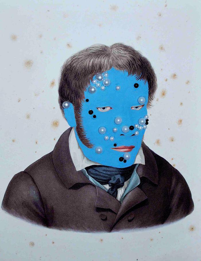 Ruth Marten-Blue face