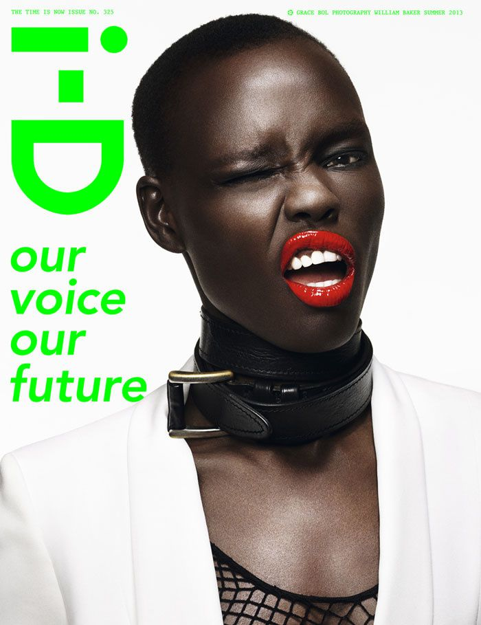 i-D - Grace Bol par William Baker